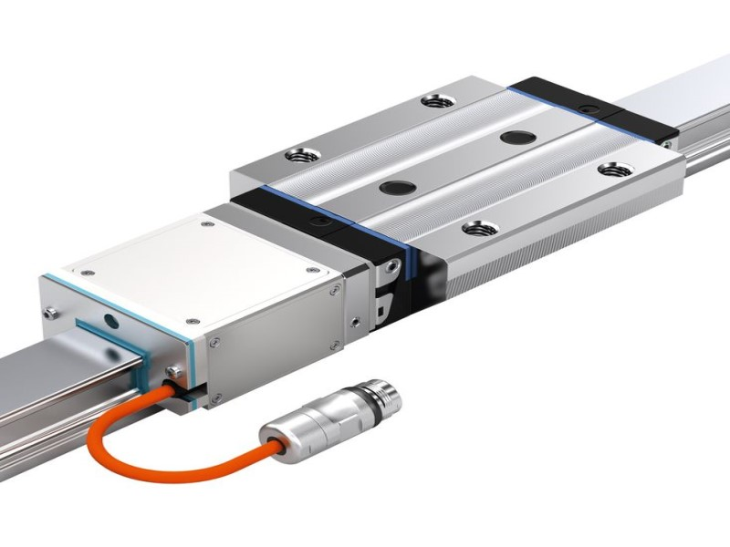 Integrated Measuring System for Roller Rail Systems